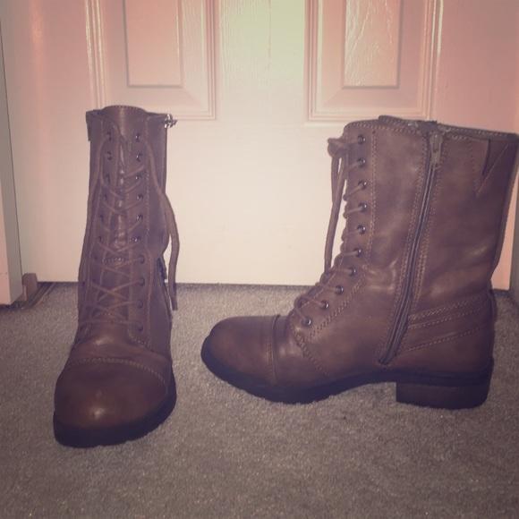 Shoes | Super Cute Combat Boots | Poshmark