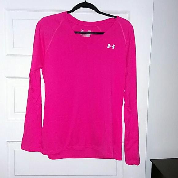 93e33ed9 Underarmour Hot Pink long sleeve shirt