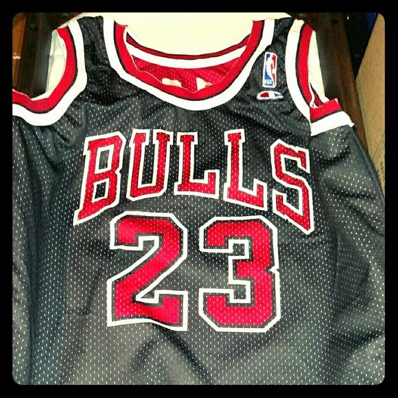 55% off Champion Tops - Vintage Reversible Michael Jordan Jersey