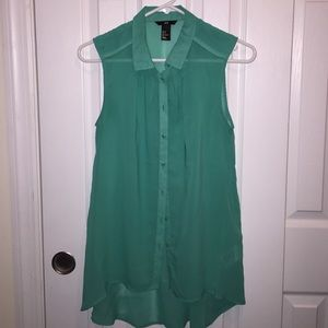 H&M chiffon sleeveless top size 6