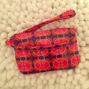 ID AND COIN PURSE WRISTLET