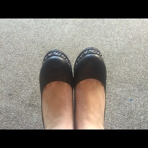 Chanel shoes black size 39