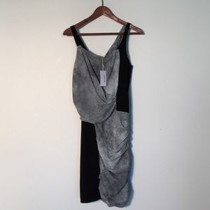 NEW! Helmut Lang Dress with Graphic Print size 6