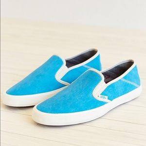 Vans Comina Slip-on Shoe in Sky blue
