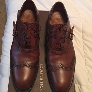 Louis Vuitton Mens Wingtip Shoe | Poshmark