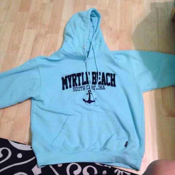 Pacific Amp Co Tops Myrtle Beach Sc Hoodie Poshmark