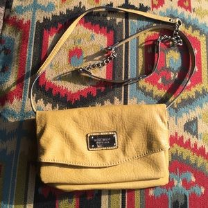 Yellow Nine West Purse/Clutch
