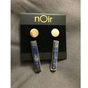 nOir Earrings