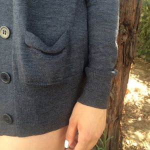 Gray BCBG Cardigan