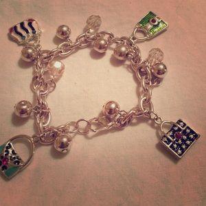 Purse bracelet