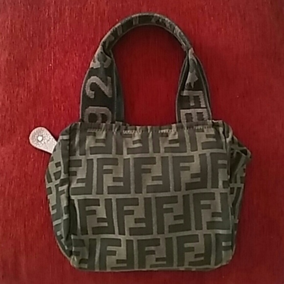 3f8f7bb28be FENDI Handbags - Authentic Fendi handbag purse makeup bag