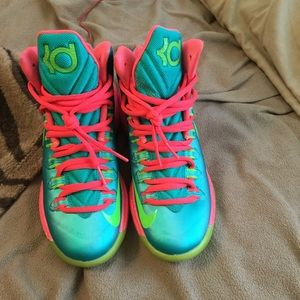 Nike Shoes - Nike kd custom made 454b5ed0dc57