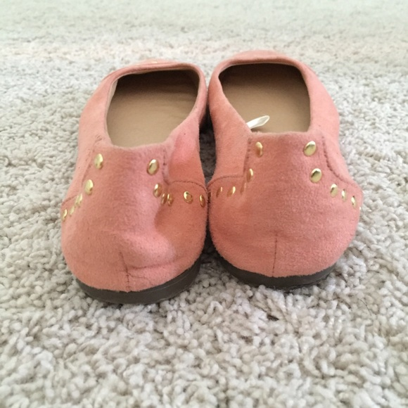 72 merona shoes sz 6 baby pink suede flats from