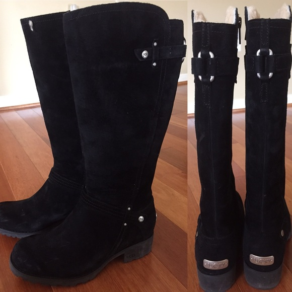 NWOT UGG black tall boots