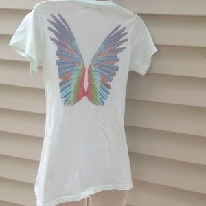 WILDFOX feathered wings T shirt