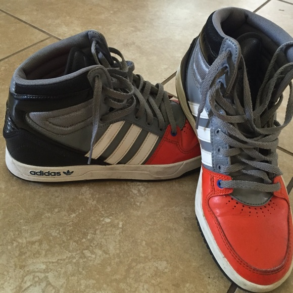 Adidas Shoes Boys High Tops
