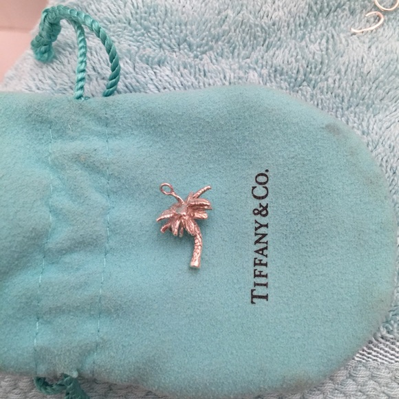Palm Tree charm in sterling silver Tiffany & Co.