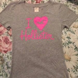 I Love Hollister Shirt