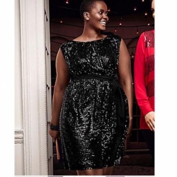 3ee711ea8fc Lane Bryant Dresses   Skirts - Black sequin dress