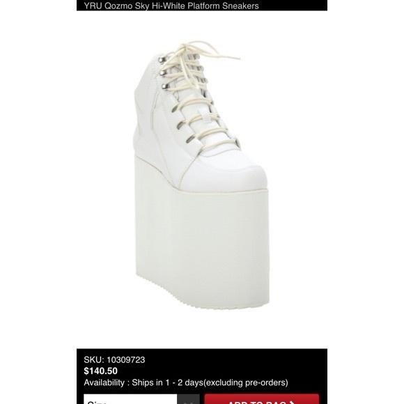 d9a253d92da YRU qozmo sky high white platform sneakers