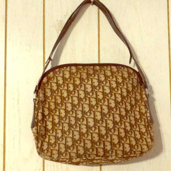 55782668818a Dior Handbags - Christian Dior print bag vintage