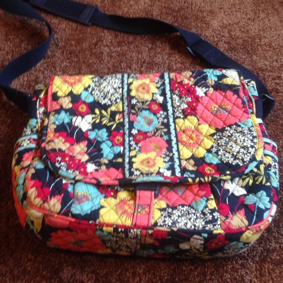 Vera Bradley Bags Messenger Backpack In Happy Snails