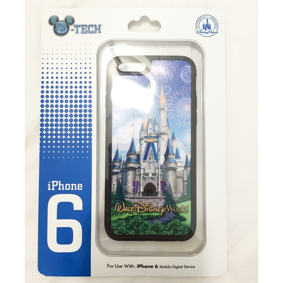 finest selection 01b75 36a38 NWT Disney Castle iPhone 6 Case NWT