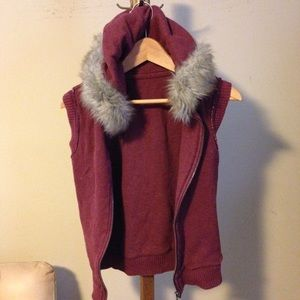 Jackets & Blazers - Sleeveless vest