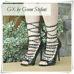 GX by Gwen Stefani Shoes - 🍉 👠 GX by Gwen Stefani Hatsumi heels in black.