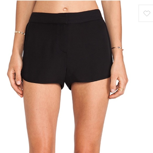 855fbb3206 Theory Shorts | Silk Nadrea In Black | Poshmark