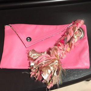 Clutches & Wallets - Pink wristlet