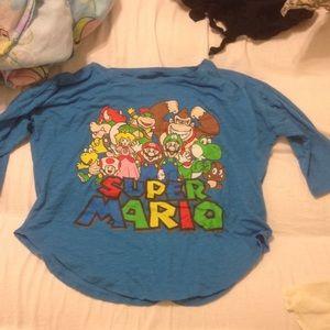 Super Mario crop top