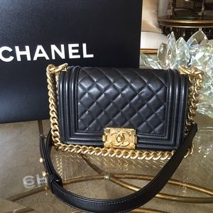 Black CHANEL Bags on Poshmark