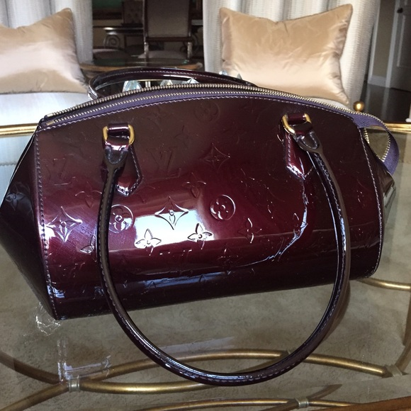 97f531c48a4 Louis Vuitton Bags   Patent Leather Burgundy Authentic   Poshmark
