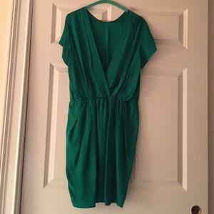 Amanda Uprichard Dresses & Skirts - Amanda Uprichard green silk dress