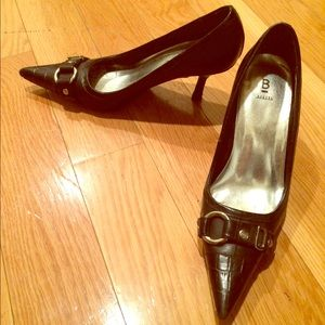 Black bakers heels