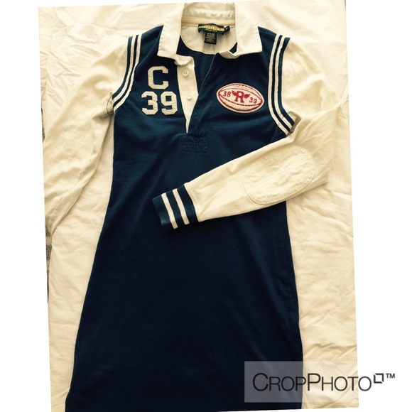 ?FINAL PRICE?Ralph Lauren Rugby polo dress XS-S??