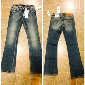 NWT Vigoss Bootcut Collection sz 0/25 Nordstrom's