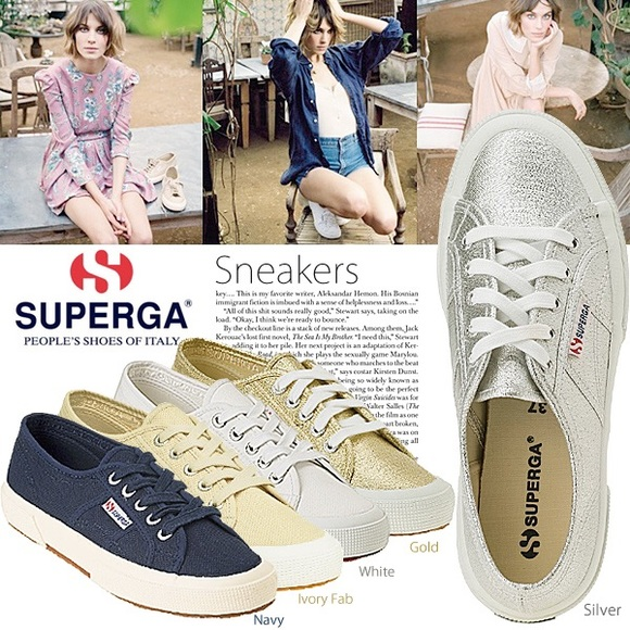 51 off superga shoes superga silver shoes from alice 39 s closet on poshmark. Black Bedroom Furniture Sets. Home Design Ideas