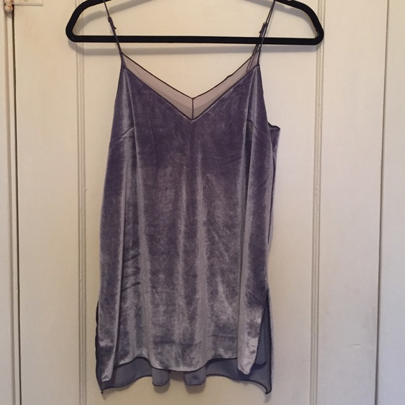 a9bfa4a3b05 Free People Tops - Free people velvet solid tank