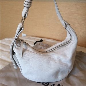 Hogan Handbags - Hogan White Hobo Bag