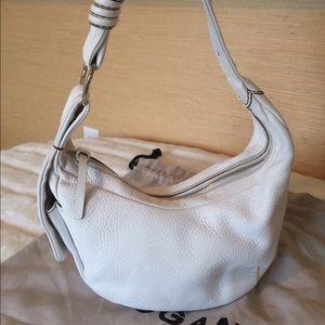 Hogan Handbags - Hogan White Hobo Bag