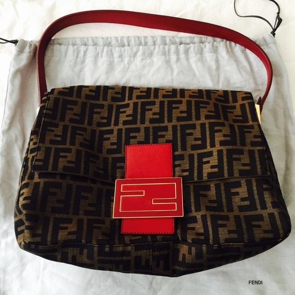 03bbbcad4eb0 FENDI Handbags - ✨SALE✨Authentic FENDI Mama Zucca shoulder