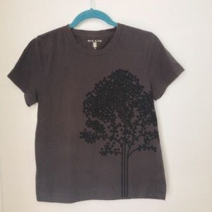 Orla Keily Tops - Orla Kiely Grey Tshirt. 4.
