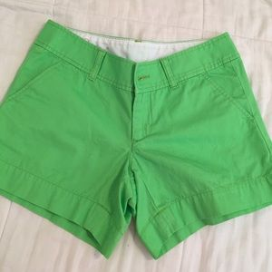 Lilly Pulitzer Pants - Green Callahan Lilly Pulitzer Shorts Sz 0