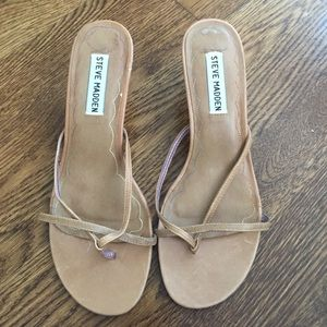 Tan Steve Madden Sandals