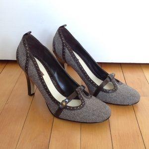 Lela Rose for Payless Herringbone Heels. Size 8