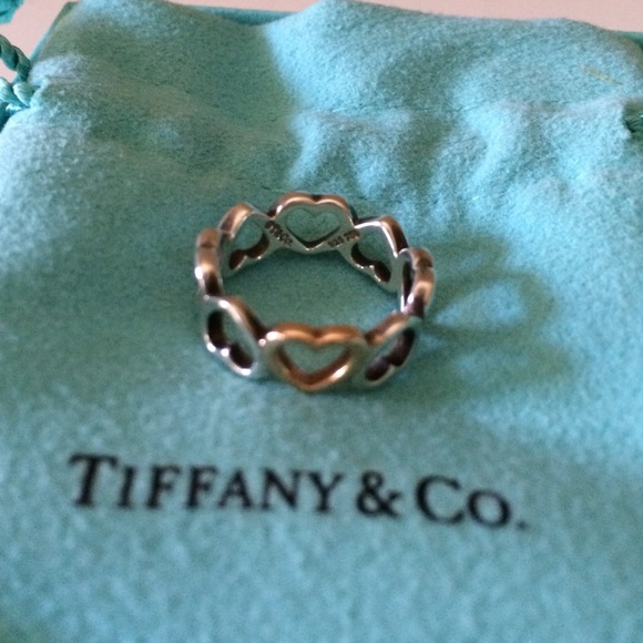 77 off Tiffany Co Jewelry Tiffany Co 18k Rose Goldsterling