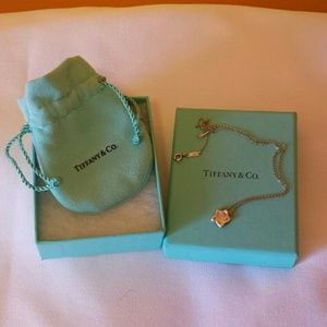 Tiffany & Co. Elsa Peretti Star Pendant Necklace