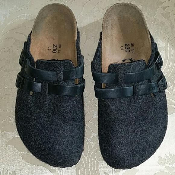 birkenstock grey birkenstock shoes made in germany from samira 39 s closet on poshmark. Black Bedroom Furniture Sets. Home Design Ideas
